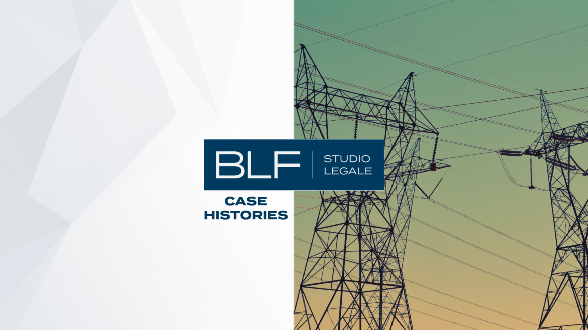 BLF Studio Legale with CPL Concordia in the sale of European Gas Network to Italgas S.P.A.