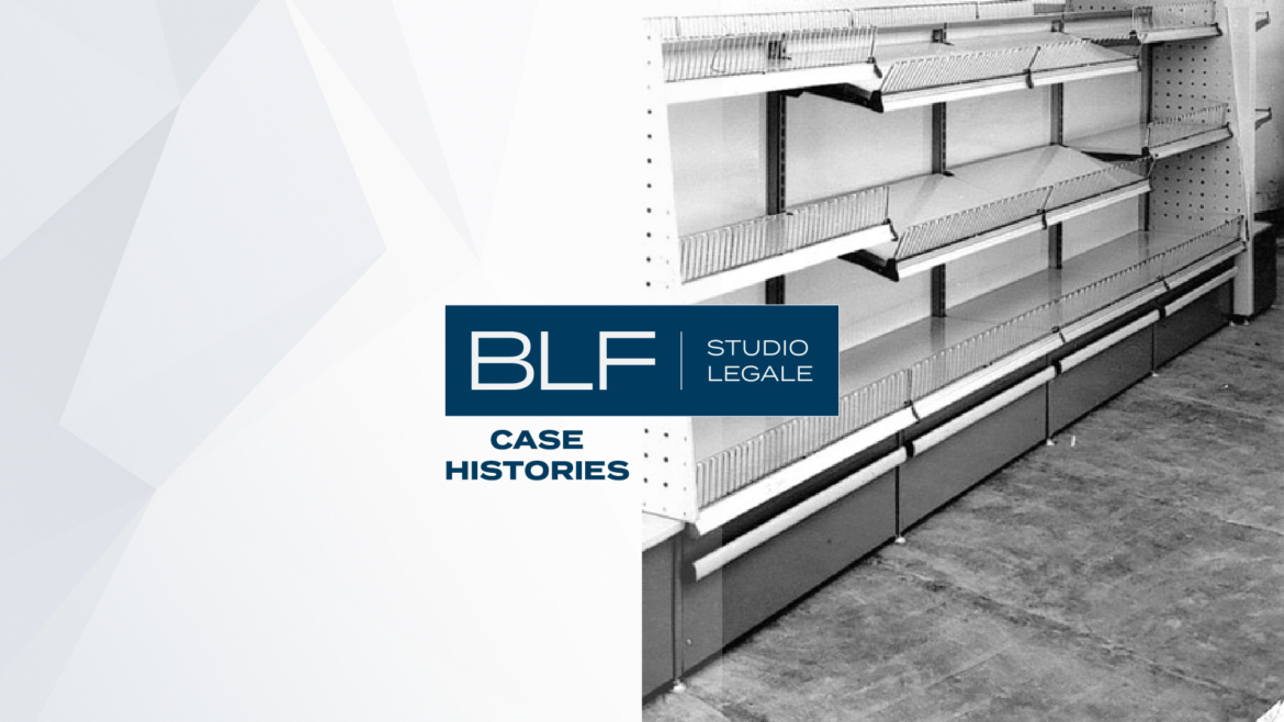 "BLF Studio Legale with Cefla S.c. in the signing of the preliminary contract concerning the sale to ITAB La Fortezza S.p.A. of the ""shopfitting"" business unit."